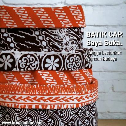 Batik Cap - Kriyaandme
