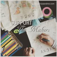 Support the makers - kriyaandme